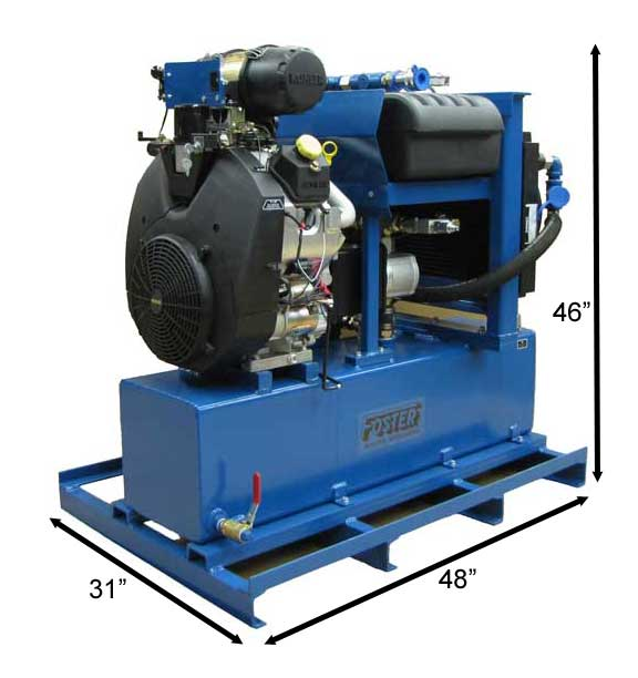 Kohler Gas Hydraulic Power Unit