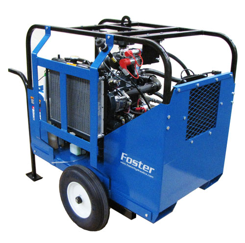 mobile hydraulic power unit