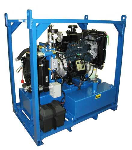 kubota diesel power pack