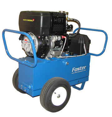 Hatz hydraulic power unit