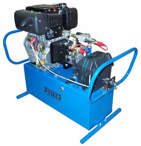 diesel hydraulic power unit 10 HP