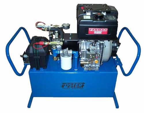 Diesel hydraulic power pack 10 hp