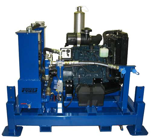 Diesel Hydraulic Power Unit