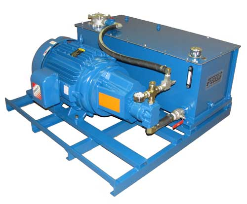 low profile hydraulic unit