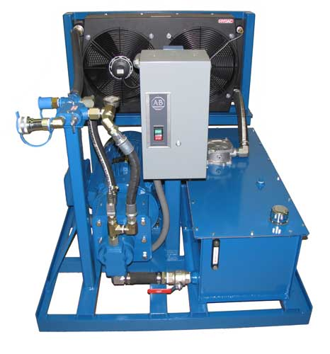 electric power pack heat exchanger