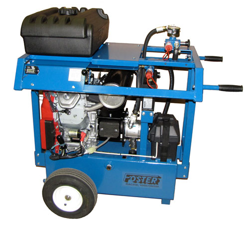 Gas hydraulic power pack