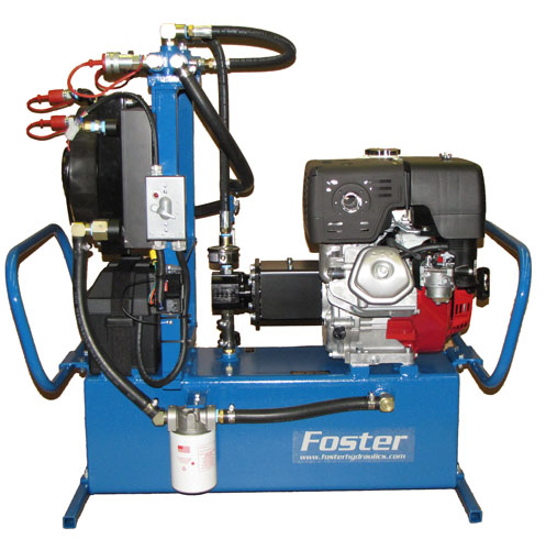 8 hp hydraulic power unit