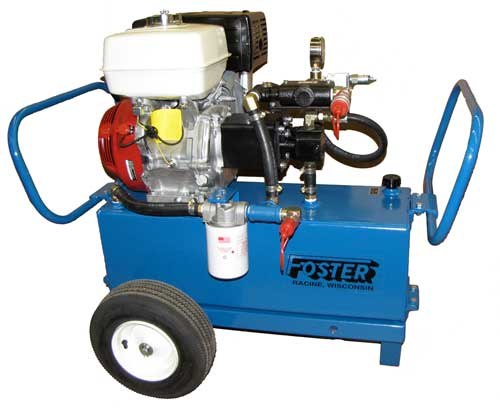 hydraulic power unit w/wheels