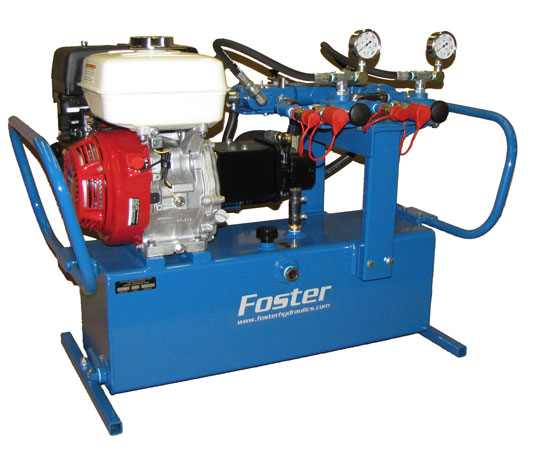 Dual circuit hydraulic power pack