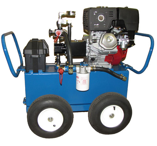 gas power unit wheel package