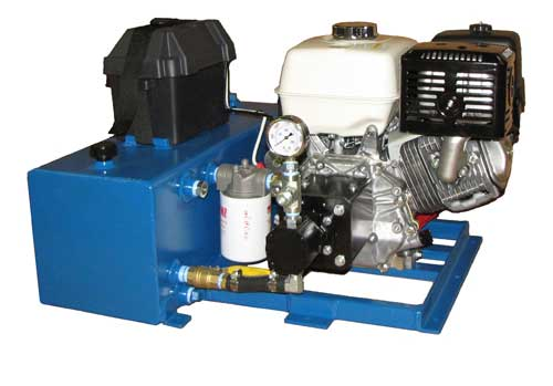 hydraulic trailer power unit